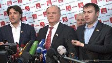 Кандидаты в президенты прокомментировали первые итоги выборов