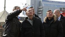 Премьер-министр РФ В.Путин в Астрахани