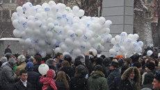 Проводы политической зимы закончились потасовкой на площади Революции