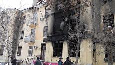 В сгоревшем кафе Белладжио идут восстановительные работы