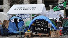 Палаточный лагерь движения Оккупируй Лондон