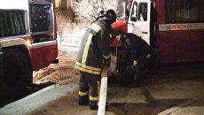 Из горящей квартиры в Новокосино спасли четверых человек, один погиб