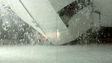 Крыша катка рухнула во время тренировки звезды НХЛ Рихарда Зедника