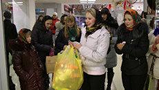 Студенты наколядовали 20 мешков подарков для детей-сирот за полчаса