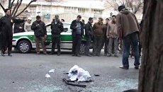 Ученый-ядерщик погиб при взрыве автомобиля в Тегеране. Видео с места ЧП