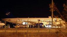 Сирийский пассажирский самолет, посаженный в Анкаре