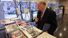 Выставка печатных изданий в Международном мультимедийном пресс-центре агентства РИА Новости
