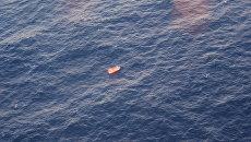 Район гибели буровой платформы Кольское в Охотском море