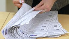 Подсчет голосов на выборах в Государственную Думу РФ