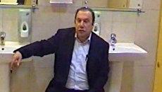 Батурин в туалете выслушал предъявленные ему обвинения
