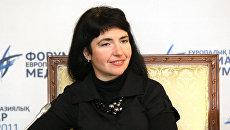 Главный редактор газеты Известия в Украине Янина Соколовская