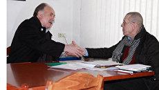 Встреча Николая Губенко и Валерия Золотухина