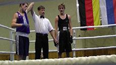Немцы признали силу российских боксеров во время турнира в Костроме