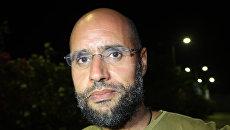 Сын Каддафи Сейф аль-Ислам. Архивное фото