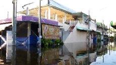 Местная река затопила исторический центр и пригороды Бангкока