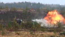 Наблюдатели ОБСЕ оценили огневую мощь самоходного орудия Спрут-СД