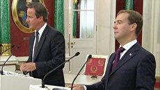 Медведев рассказал, каким агентом КГБ мог бы стать Дэвид Кэмерон
