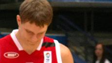 Баскетбольный матч Россия-Финляндия начался с минуты молчания