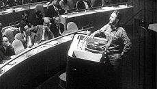 Кастро выступал на трибуне ООН четыре с половиной часа. 1960 год