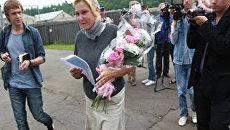 Актриса Наталья Захарова освободилась из костромской колонии