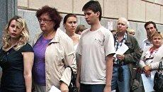 Сотни обманутых дольщиков пришли за помощью к Сергею Собянину