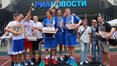 Первая летняя Медиаспартакиада в РИА Новости
