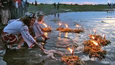 Празднование дня Ивана Купалы в Белоруссии