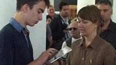 Сын Саакашвили установил мировой рекорд по скорости набора алфавита на iPad