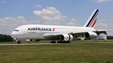 Самолет авиакомпании Air France. Архивное фото