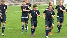 Сборная России провела первую тренировку в Москве перед матчем с Арменией