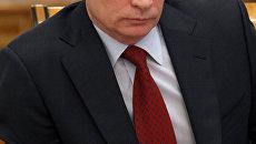Глава правительства РФ Владимир Путин. Архив