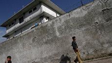 Место, где была проведена операция по ликвидации Усамы бен Ладена