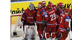Сборная России по хоккею поборется с канадцами за выход в полуфинал ЧМ