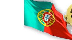 Флаг Португалии и Евро