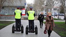 Сотрудникам патрульно-постовой службы УВД Набережных Челнов выдали электросамокаты