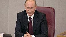 Путин обещал никого не чикать в интернете и рассказал, где берет молоко
