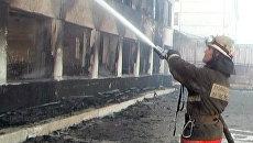 Сгорела колония, в которой сидел Ходорковский. Видео с места ЧП
