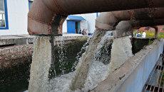 Очистные сооружения. Арихивное фото