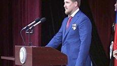Рамзан Кадыров принес присягу на русском и чеченском языках
