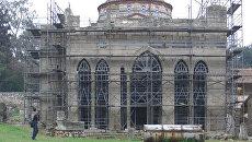 Греческие архитекторы спасают от разрушения древний монастырь Дафни