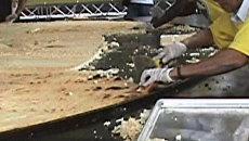 Самую большую в мире кукурузную лепешку приготовили в Венесуэле