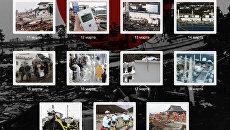 Землетрясение в Японии: хроника событий