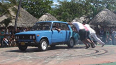 Кубинцы показали, на что способны российские Жигули и Москвичи