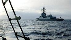 Боевые корабли НАТО. Архивное фото