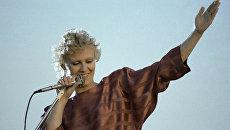 Певица Анне Вески. Архив