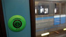 Испытание новых вагонов в московском метро