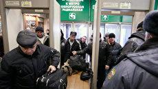 Усиление мер безопасности на вокзалах Москвы