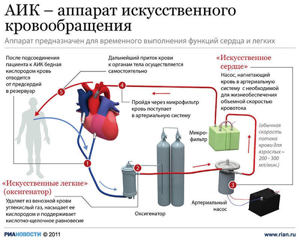 Правила проведения наружного непрямого массажа сердца
