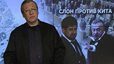 Слон против кита: как поссорились Кадыров с Жириновским