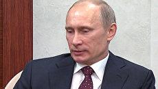 Путин намерен плотно работать с экспертами ФИФА при подготовке ЧМ